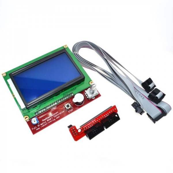 Модуль управления LCD 12864 (RepRapDiscount Full Graphic Smart Controller)