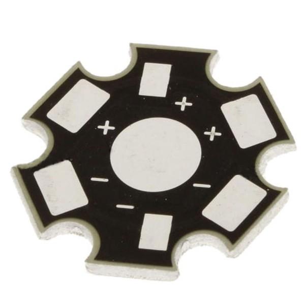Подложка алюминиевая на один светодиод