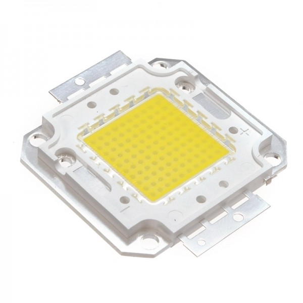 Светодиод Холодный белый LED 100W 30-34V 6000-6500k