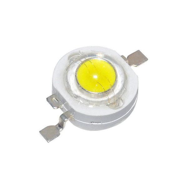 Светодиод Холодный белый LED 3W 3.2-3.4V 6000-6500k