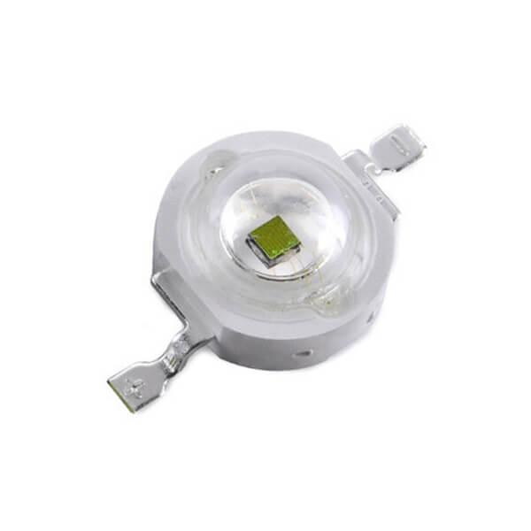Светодиод Зелёный (Green) LED 3W 3.2-3.4V