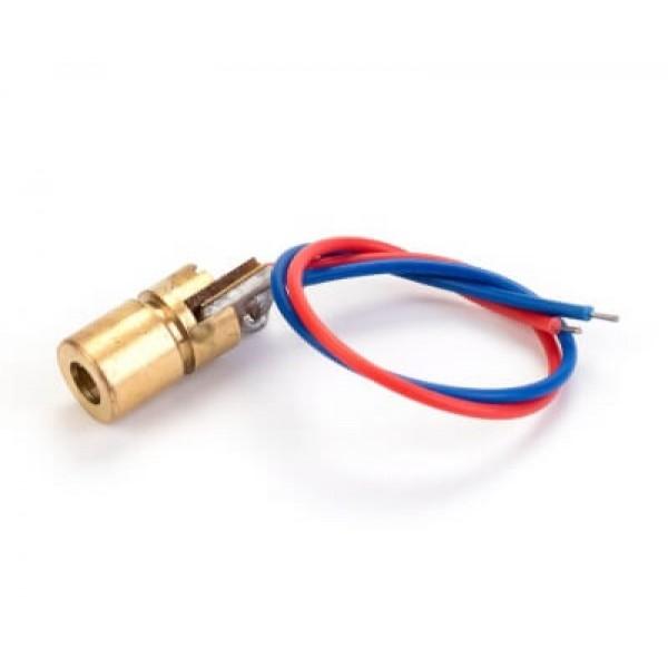 Лазер 3В 5мВт 650нм