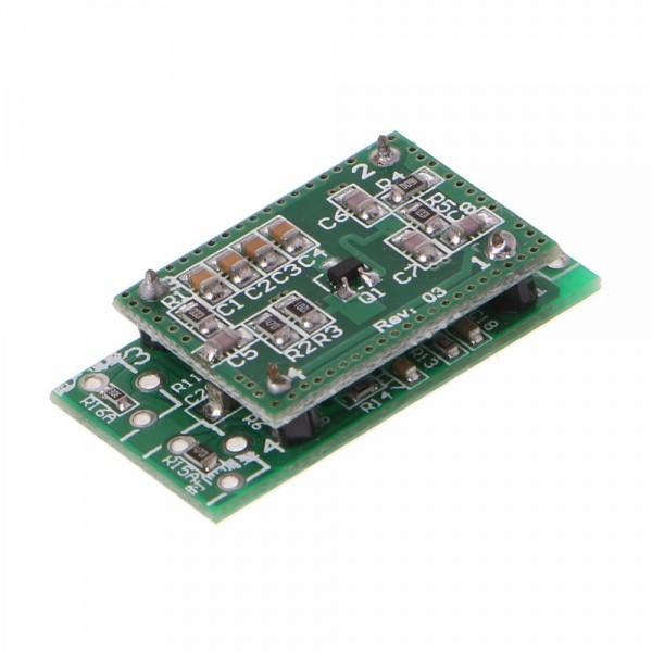 Датчик движения микроволновый LV002 10.525 ГГц (Радар Доплера)