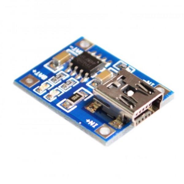 Контроллер заряда Mini/Micro USB для Li-ion аккумуляторов  на микросхеме TP4056