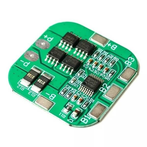 Контроллер Заряда/Разряда BMS 4S 14.8-16.8V 20A для Li-ion